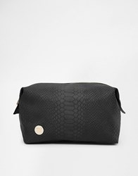 Mi Pac Mi Pac Python Black Make Up Bag Blush