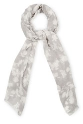 Oasis Mono Honey Flower Scarf