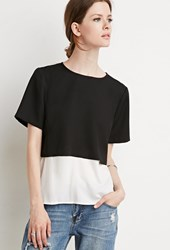 Forever 21 Colorblocked Combo Top
