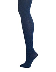 Lemon Silver Lining Slub Tights Midnight