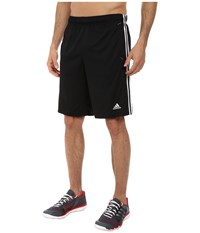 Adidas Essential 3S Shorts Black White Men's Shorts