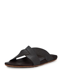 Punono Slide On Sandal Gray Brown Olukai