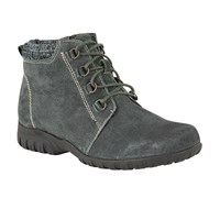 Lotus Santana Suede Lace Up Ankle Boots Green