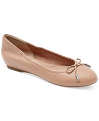 Rockport Women's Total Motion Round Toe Ballet Flats Women's Shoes Taupe