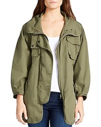 William Rast Britt Utility Jacket Olive Night
