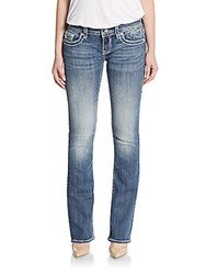 Vigoss Ny Rope Boot Cut Jeans Medium Wash