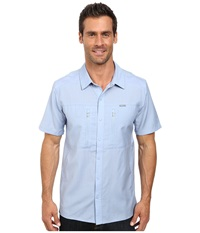 Icebreaker Oreti S S Shirt Brook Men's Clothing Blue