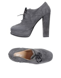 Del Gatto Lace Up Shoes Grey