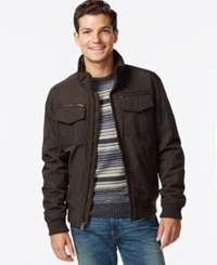 Tommy Hilfiger Performance Bomber Jacket Army