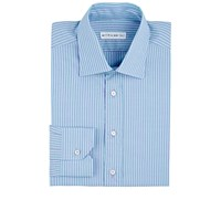 Etro Bengal Striped Dress Shirt Lilac