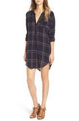 Astr Women's 'Gertrude' Plaid Shirtdress