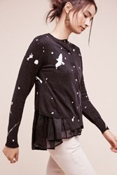 Anthropologie Shadowbird Cardigan Black