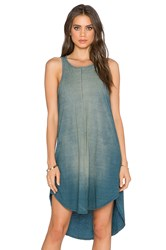 Michael Stars Crew Tank Dress Blue