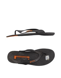 Pirelli Pzero Footwear Thong Sandals Men Dark Brown