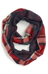 Junior Women's Bp. Plaid Infinity Scarf