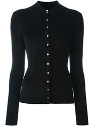 Antonio Marras Fitted Cardigan Black