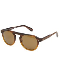 Garrett Leight Harding Sunglasses Brown