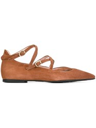 Pretty Ballerinas Strappy Brown