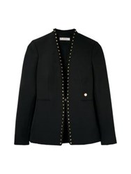 Versace Collection Studded Blazer Black