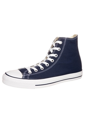 Converse Chuck Taylor All Star Hi Core Canvas Hightop Trainers Navy Blue