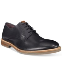 Ben Sherman Men's Birk Plain Toe Oxfords Men's Shoes Black