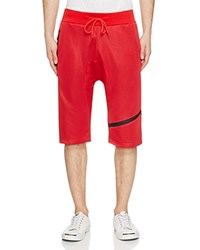 American Stitch Dub Mesh Shorts Compare At 64 Red
