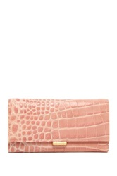 Lk Bennett Jodie Long Leather Wallet Pink