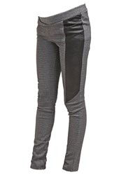 Mama Licious Mlclea Leggings Medium Grey Melange Mottled Grey