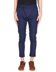 Fdn Casual Pants Dark Blue