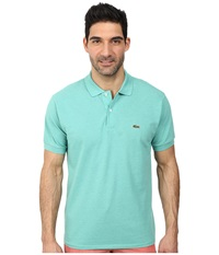 Lacoste S S Classic Pique Chine Polo Shirt Mint Chine Men's Short Sleeve Pullover Green