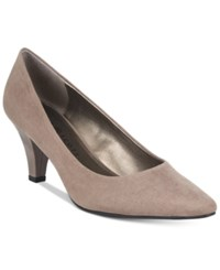 Karen Scott Meaggann Pumps Only At Macy's Women's Shoes Taupe