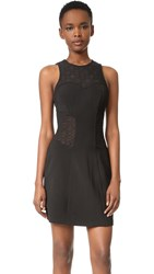 Jonathan Simkhai Burlesque Flare Dress Black