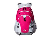 High Sierra Loop Backpack Flamingo White Ash Backpack Bags Pink