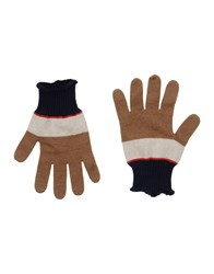 People Accessories Gloves Women Camel