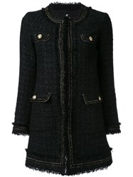 Loveless Long Boucle Jacket Black