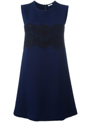 P.A.R.O.S.H. Sleeveless Dress Blue