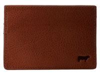 Will Leather Goods Sampson Slim Card Case Cognac Credit Card Wallet Tan