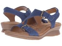 Softspots Kay Denim Otago Nubuck Women's Sandals Blue