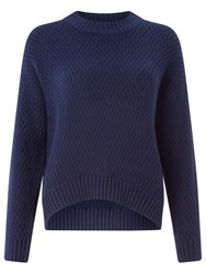 Kin By John Lewis Cable Knit Jumper Navy