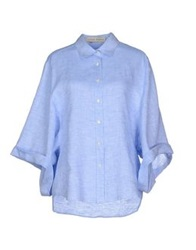 Veronique Branquinho Shirts Sky Blue