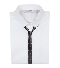 Neil Barrett Lightning Tie Shirt