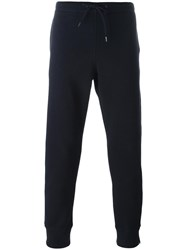 Paul Smith Ps By Tapered Ankle Track Pants Blue