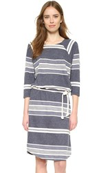 Sol Angeles Turkish Stripe Sailor Dress Indigo