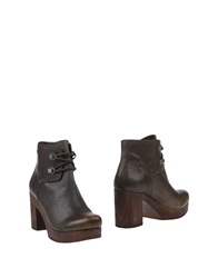 Cuple Ankle Boots Brown