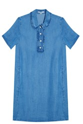 Paul And Joe Sister Denim Dress Blue