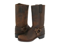 Frye Harness 12R Gaucho Men's Pull On Boots Brown