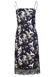 Miss Selfridge Summer Dress Multi Bright Black