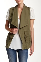 Daniel Rainn Waterfall Vest Green