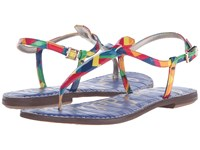 Sam Edelman Gigi Rainbow Multi Rainbow Zigzag Women's Sandals