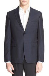Men's Z Zegna Trim Fit Wool Dinner Jacket